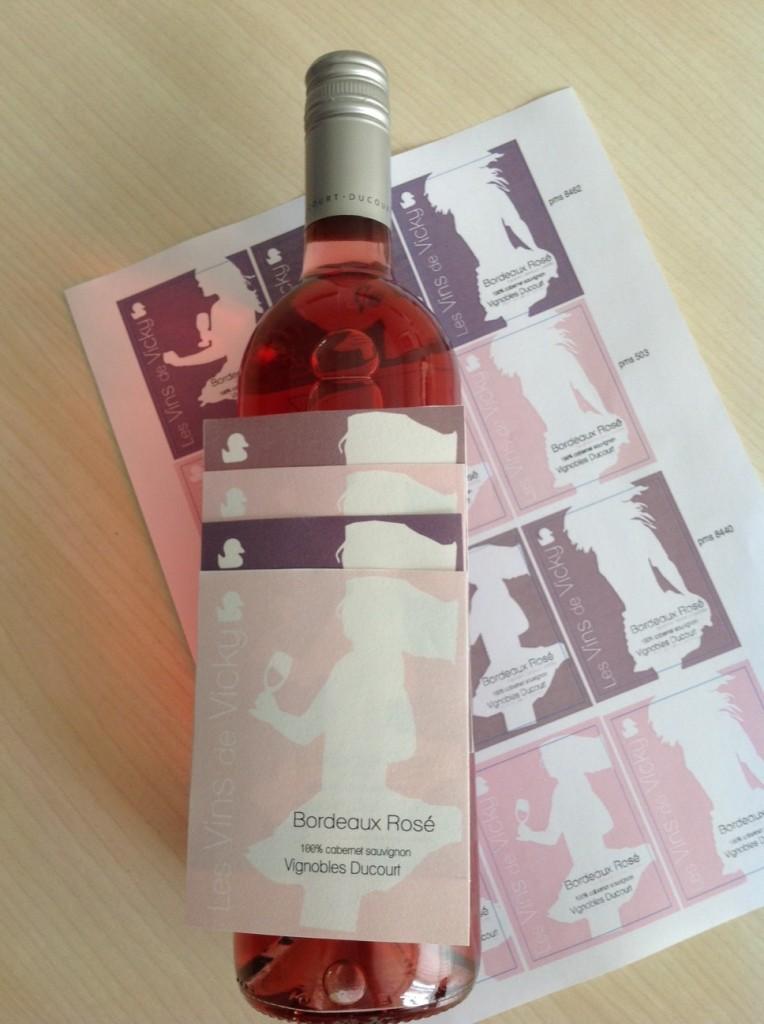 choix du pantone bordeaux rosé vicky