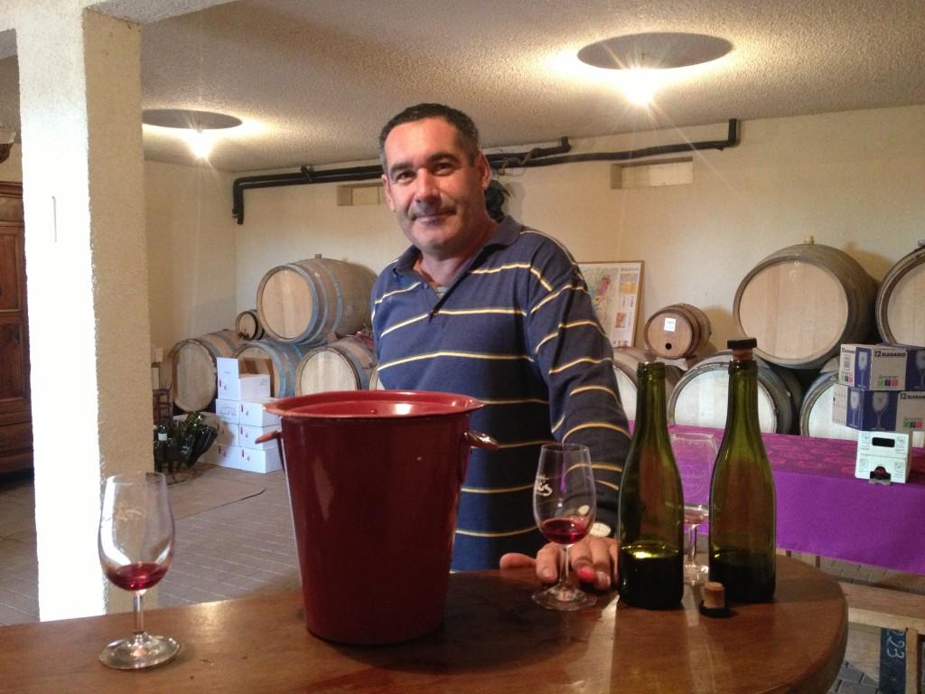 Christophe Paris pour les vins de Vicky