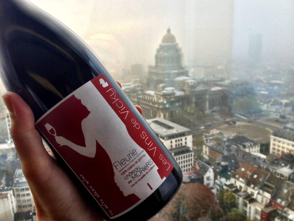 View from the Brussels Wine Market, November 2013