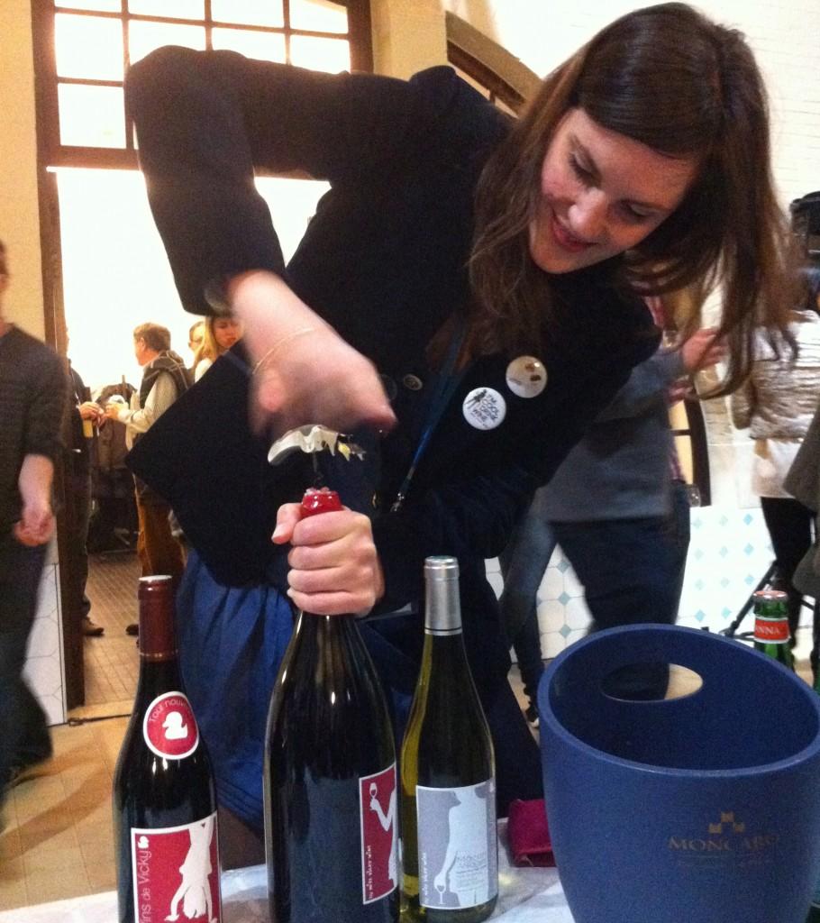 Janvier 2013, dégustation après le #WBIS  (Wine Business Innovation Forum) à Bruxelles
