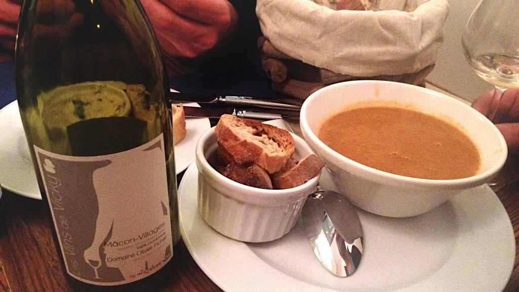 soupe de poission au bar iode paris