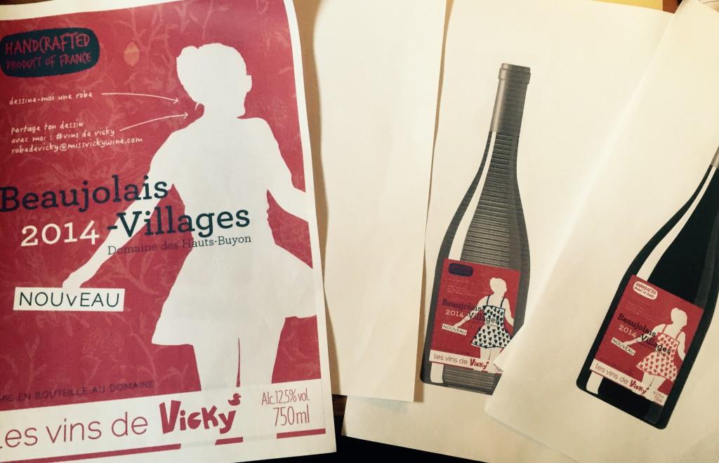 Vins de Vicky vote Beaujolais nouveau
