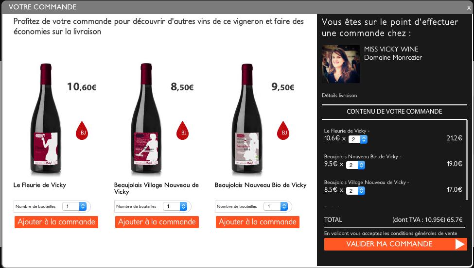 Les vins de Vicky sur Wine Republik édition limitée
