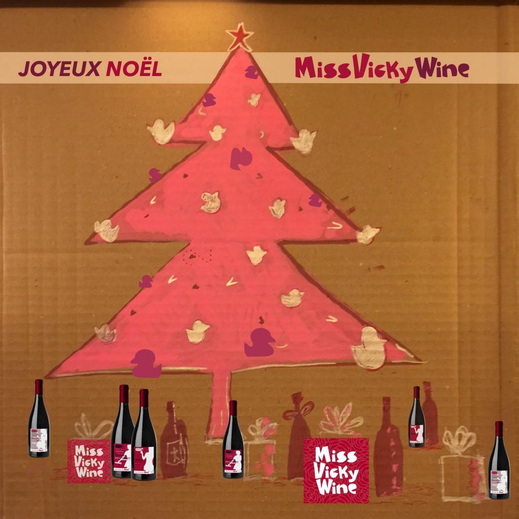 Joyeux Noël 2014 -1 miss vicky wine