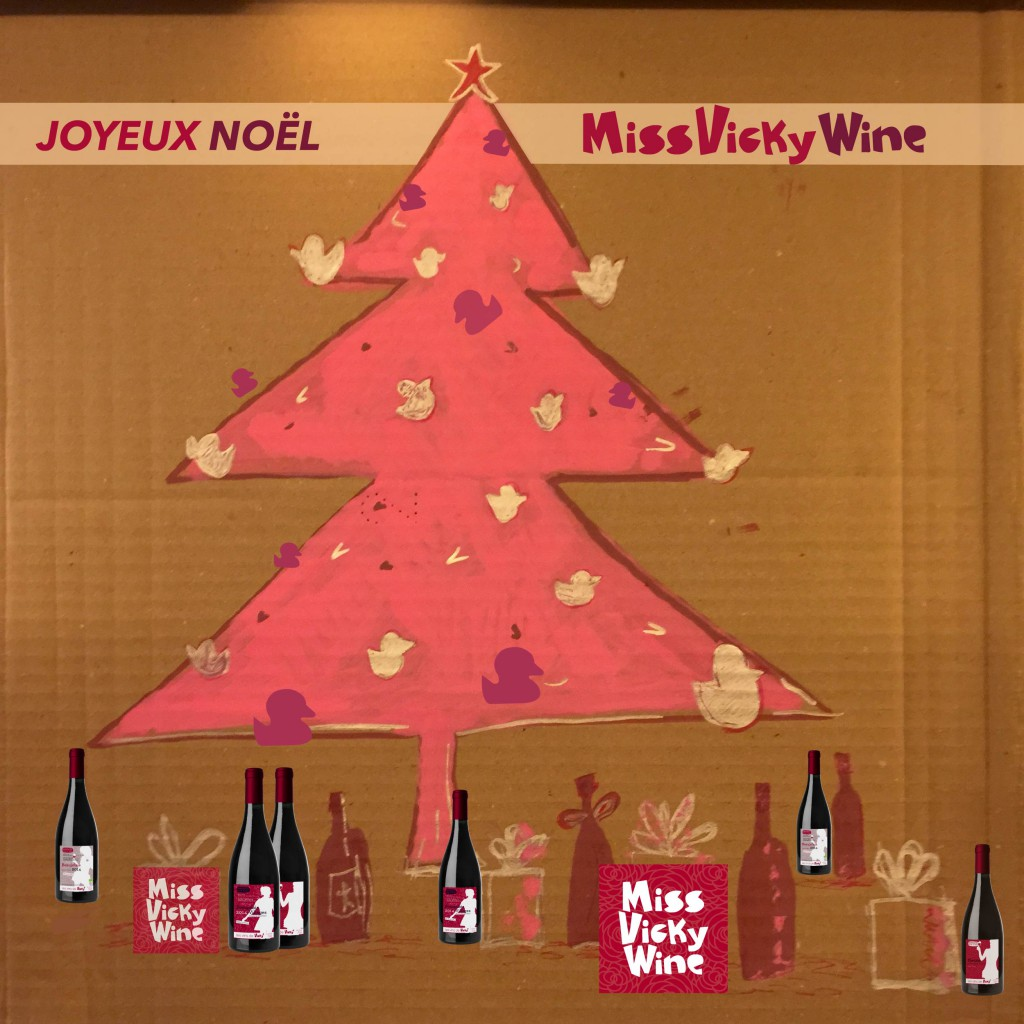 Joyeux Noël 2014 -2 miss vicky wine