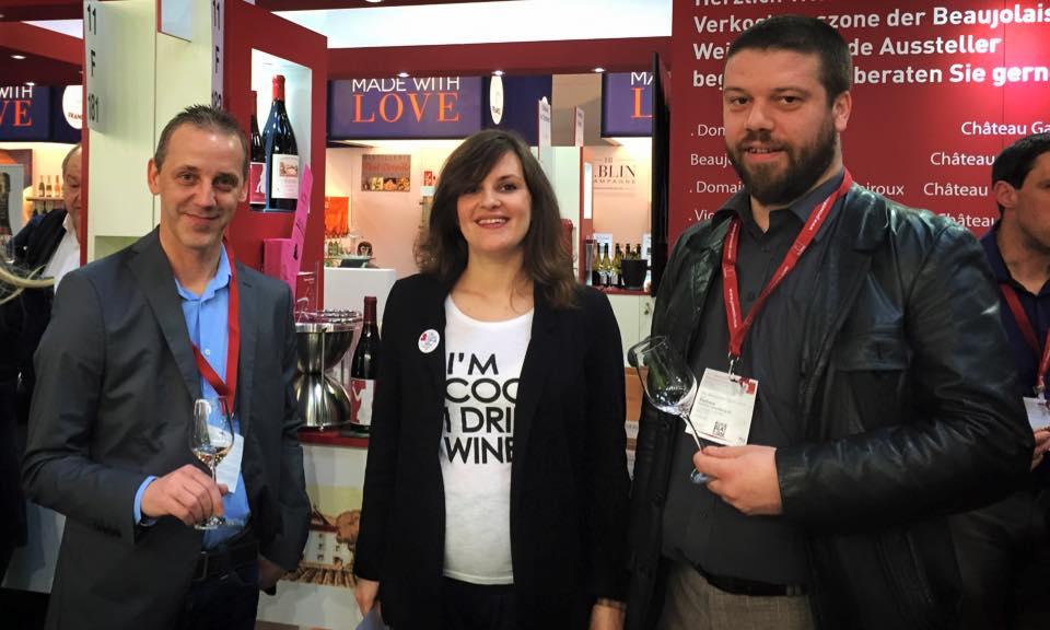 prowein2015 beaujolais vicky wine