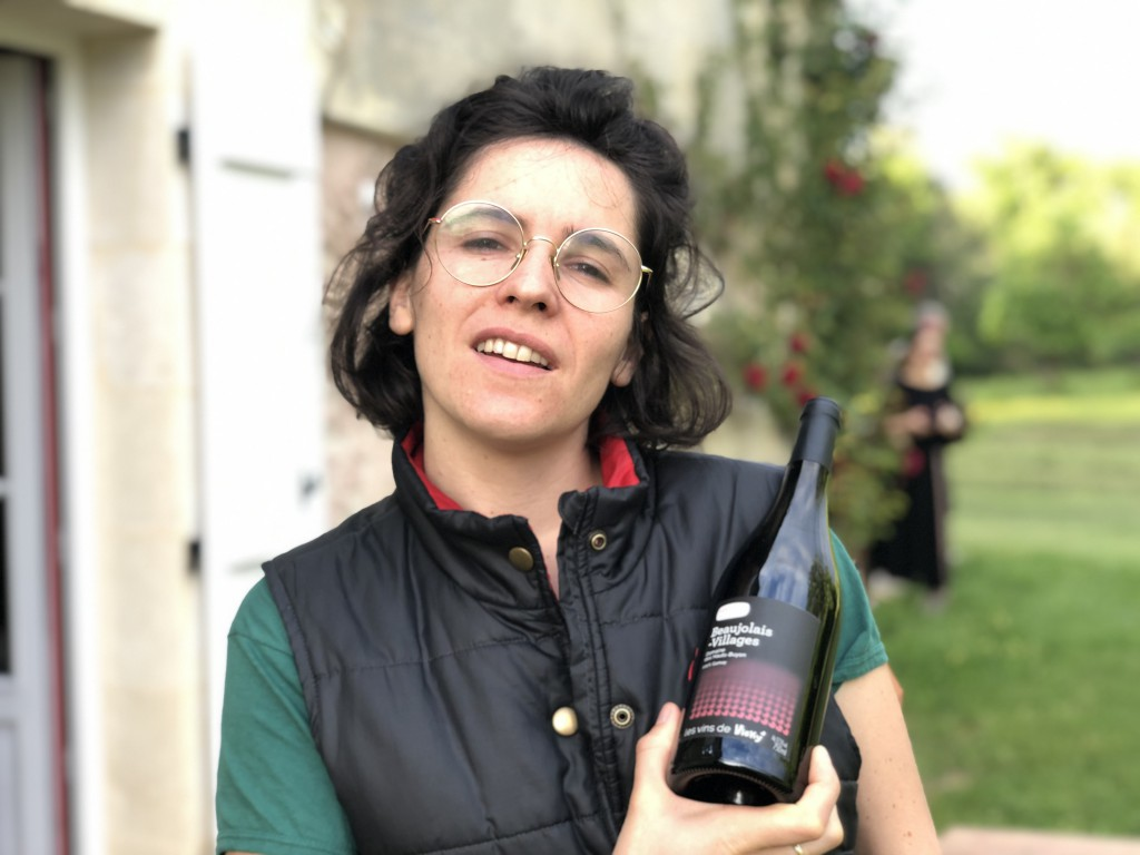 Laure monrozier pour Vicky Wine