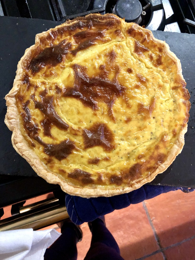 tarte au fromage bonne maman